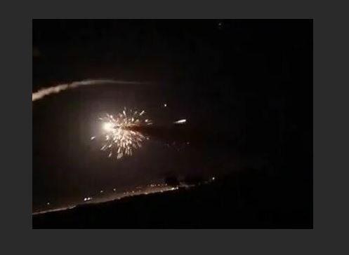 Отражение ракетного удара Израиля по Дамаску попало на видео