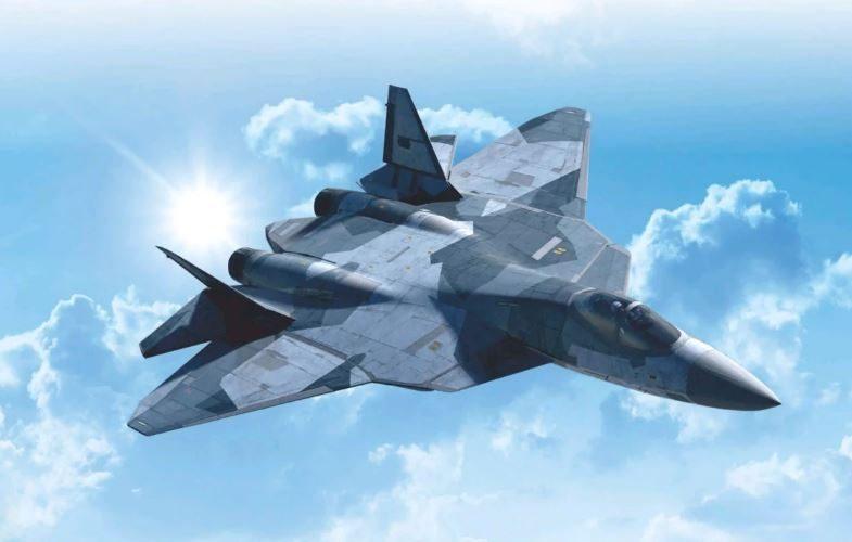 Новый Су-57 будет самым мощным истребителем в мире