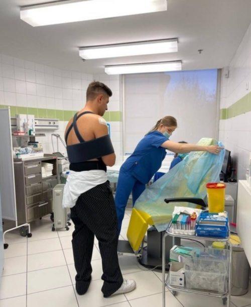 Участие в «Танцах со звездами» под вопросом: Давид Манукян попал в больницу с травмой руки
