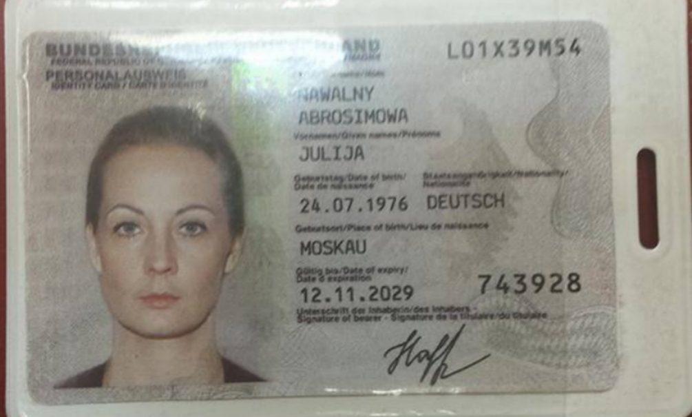 Артемий Лебедев попался на «сливе» фейка о немецком гражданстве Юлии Навальной