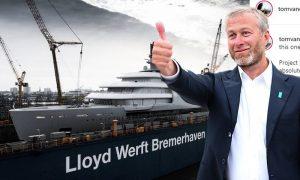 Абрамович купил новую яхту стоимостью как годовой бюджет Алтая