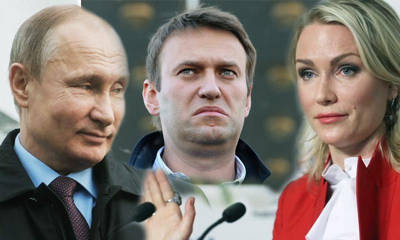 Катя Гордон: «А если Навальный нужен Путину?»