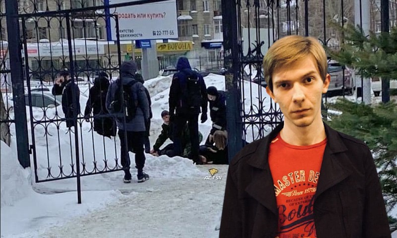 В Новосибирске студент зарезал парня своей бывшей у неё на глазах и оставил в соцсети послание