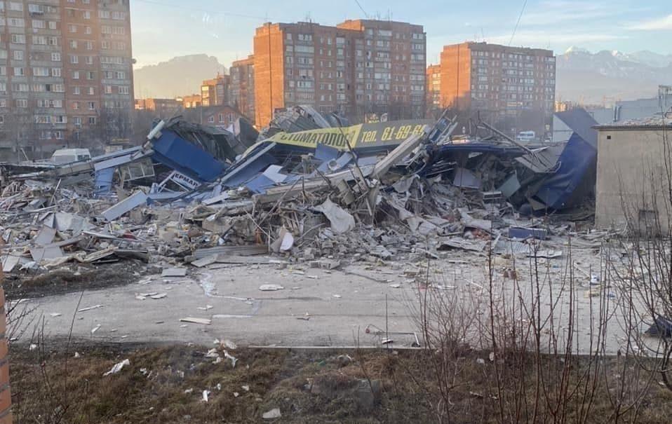 Во Владикавказе прогремел мощный взрыв. Есть пострадавшие
