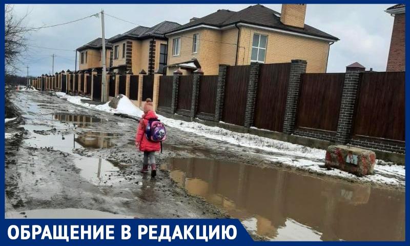 Жители поселка в Ростовской области попросили власти найти нового хозяина для разбитой дороги