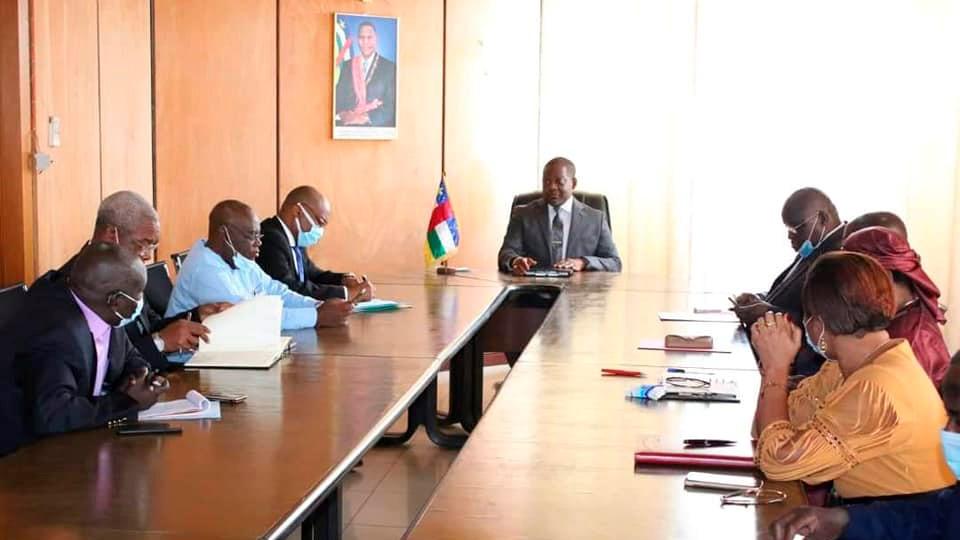 Совещание по вопросам безопасности прошло в правительстве ЦАР
