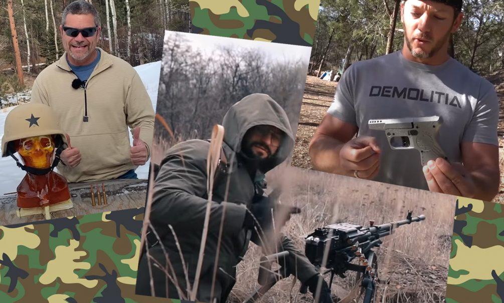 Три богатыря: кто есть кто в мире оружейных видеоблогов