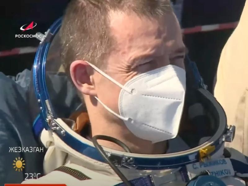 Россияне с МКС вернулись на Землю