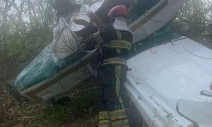 Чудесное спасение в Молдове: два человека выжили в рухнувшем самолёте