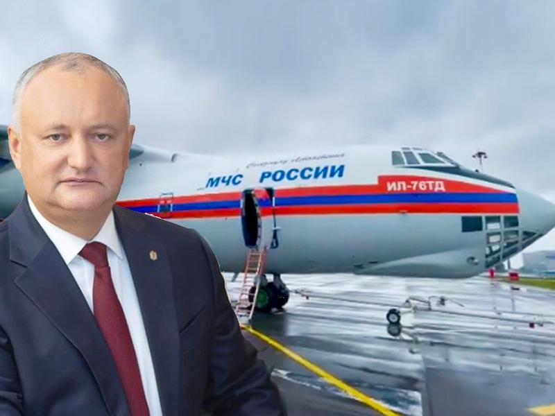 Додон привез в Молдову 142 тыс доз «Спутника V». Вакцину безвозмездно передал экс-президенту Путин