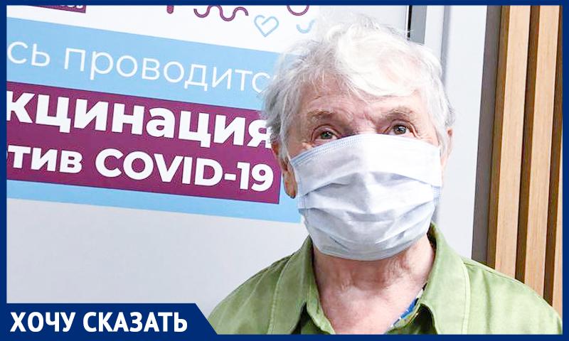 """90-летняя москвичка рассказала """"Блокноту"""", зачем сделала прививку от ковида"""