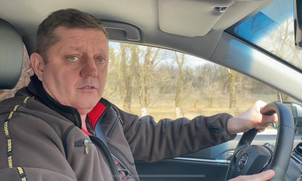 Много военной техники увидел главред Олег Пахолков на трассе Волгоград - Ростов