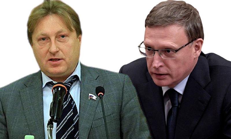 Омского губернатора Александра Буркова друг обвинил в вымогательстве 200 млн рублей