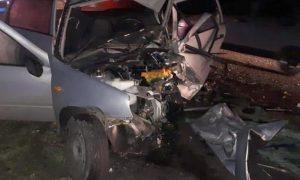Женщина и мужчина погибли в жутком лобовом столкновении в Воронежской области