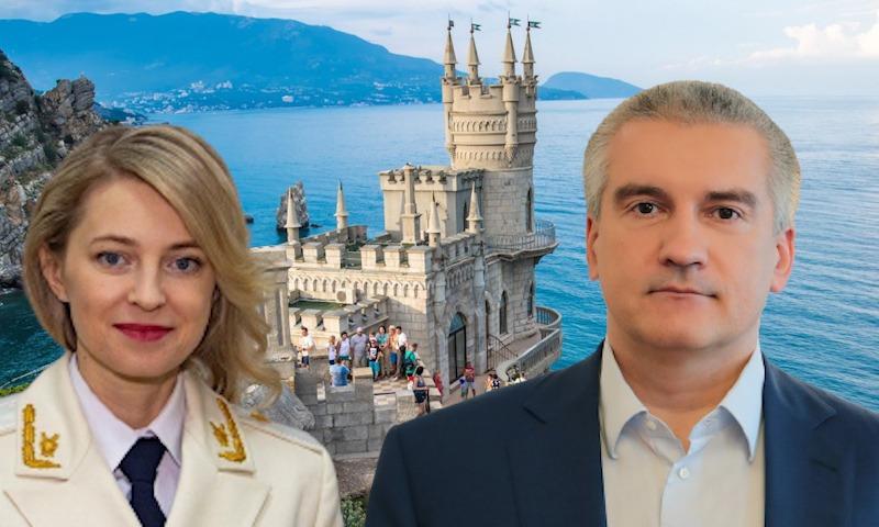 Крым: как разошлись пути Сергея Аксенова и Натальи Поклонской