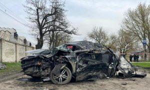 Опубликовано видео последствий ДТП в Ростовской области, в котором погибли пятеро подростков