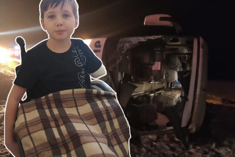 Потерявший в ДТП ноги и руку 11-летний волгоградец снова попал в больницу