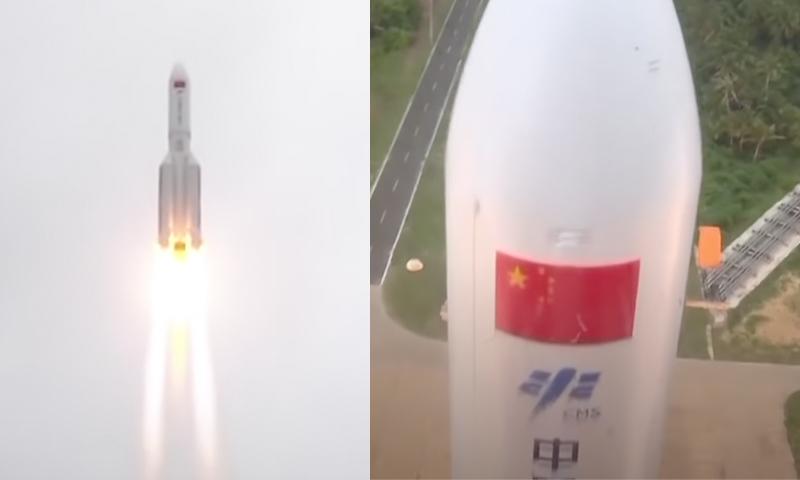 Китайская ракета потеряла контроль и упадет на Землю 8-10 мая в неизвестном месте