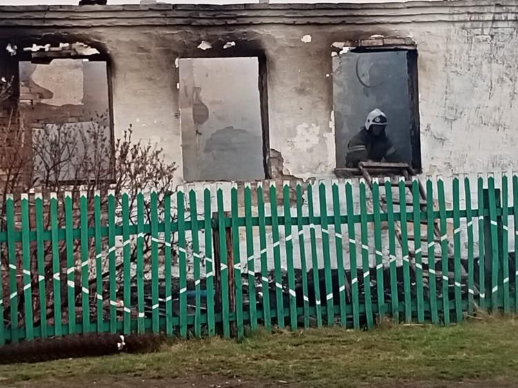 Пожар уничтожил целую деревню в Омской области