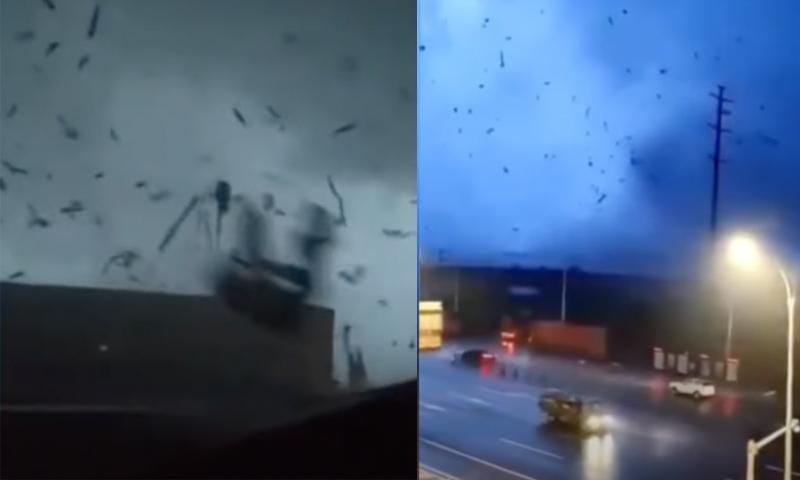 Второй за месяц ураган обрушился на Ухань. 12 человек погибли, 400 ранены