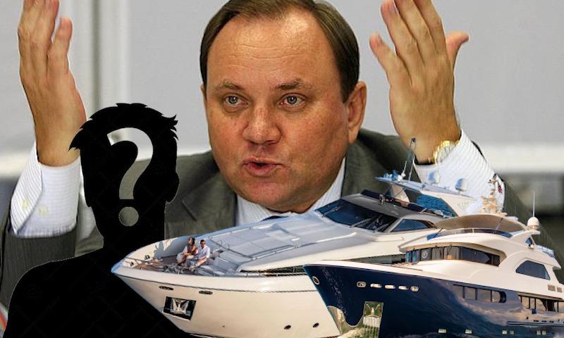Засекретить владельцев яхт на «дембельский аккорд» решил депутат Госдумы Виктор Дерябкин