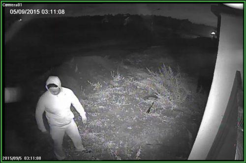 Момент нападения на загородный дом бизнесмена Вячеслава Симоненко в Красногорске
