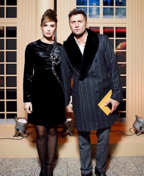 Муцениеце и Прилучный впервые после развода появились на публике вместе