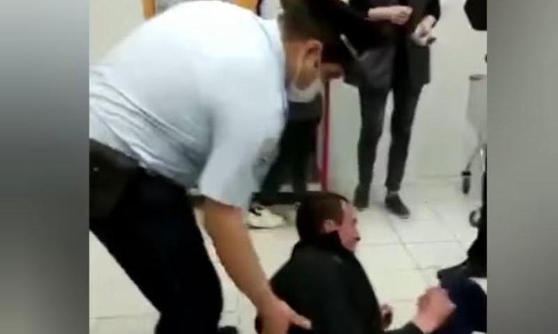 Разгром винного отдела в Минводах сняли на камеру очевидцы