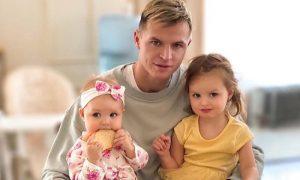 Футболист Дмитрий Тарасов, урезавший алименты дочери, учит воспитывать детей