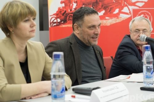 Максим Шевченко переходит от коммунизма к справедливости