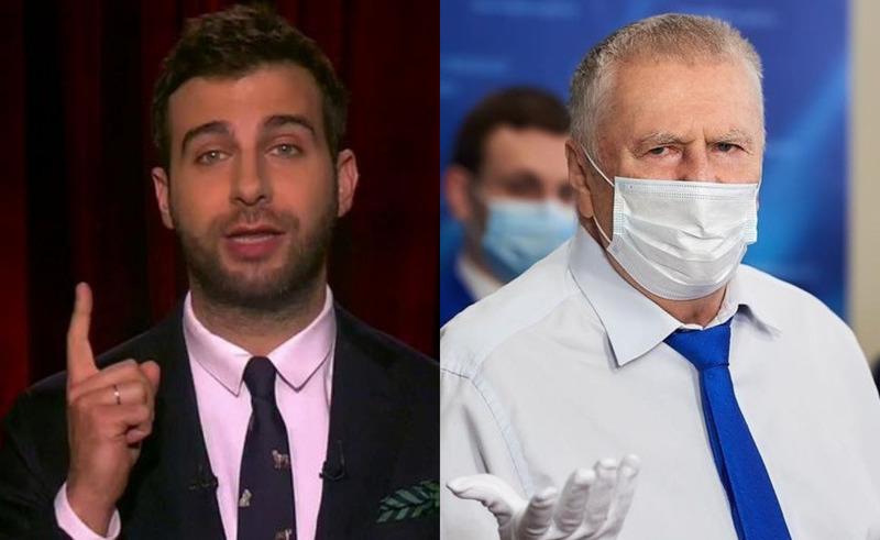 Ургант ответил на угрозу Жириновского закрыть вечернее шоу из-за «слабенькой шутки»