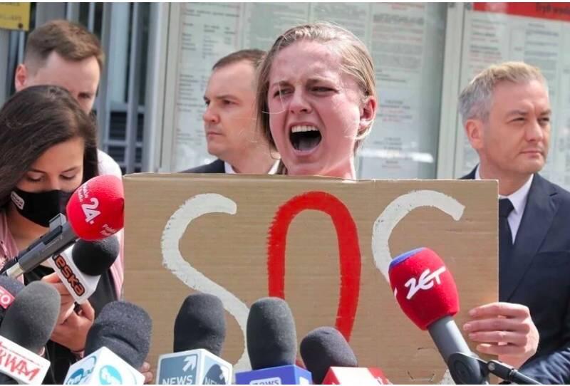 «Ааааааа!»: соратники задержанного в Белоруссии оппозиционера Протасевича поддержали его странной акцией
