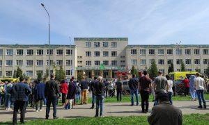 Сегодня пройдут похороны погибших во время бойни в казанской школе