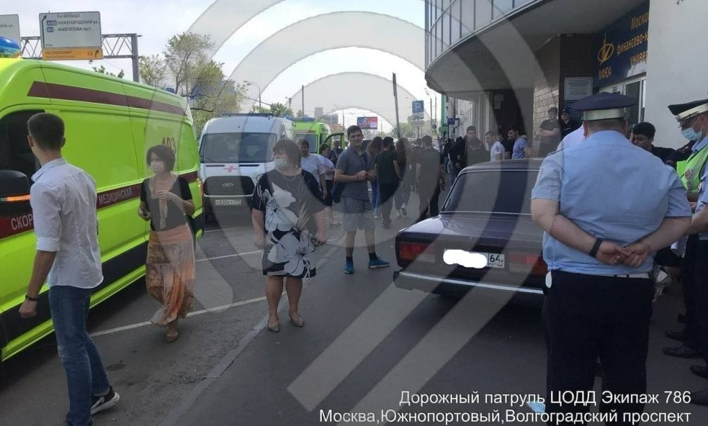 Юный гонщик без прав на угнанной у отца машине сбил четырех человек в Москве