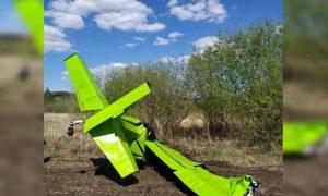 В Татарстане пьяная парочка угнала самолет и на нем разбилась