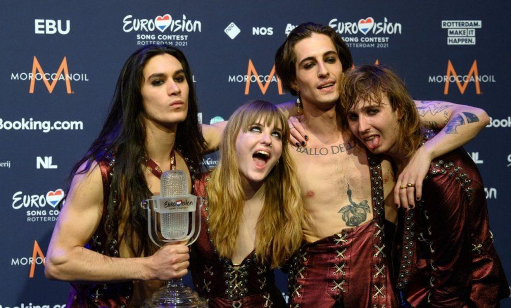 Победителем «Евровидения-2021» стала итальянская глэм-рок группа Maneskin. Manizha вошла в 10-ку лучших