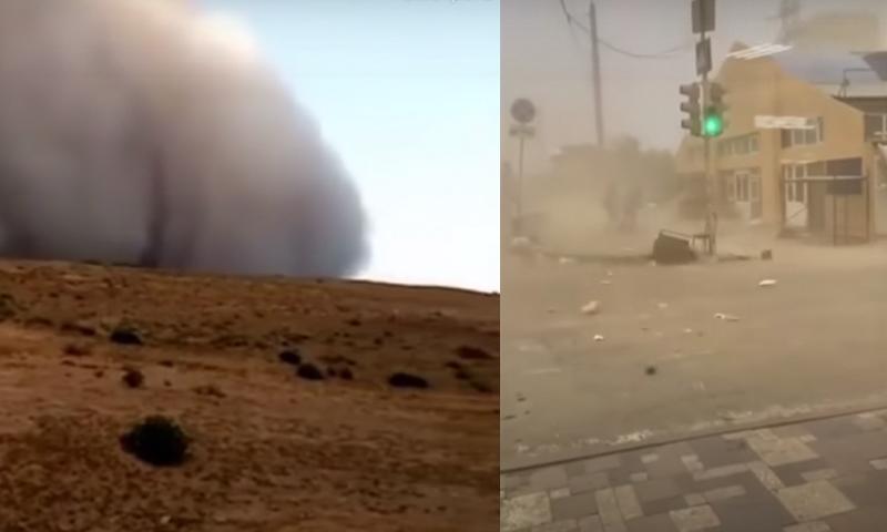 Вторая подряд мощнейшая пыльная буря обрушилась на Астрахань. И это не конец