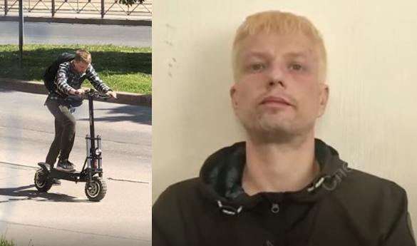Самокатчик, который сбил девочку в Петербурге и сбежал, задержан с наркотиками. Он покрасился в блондина