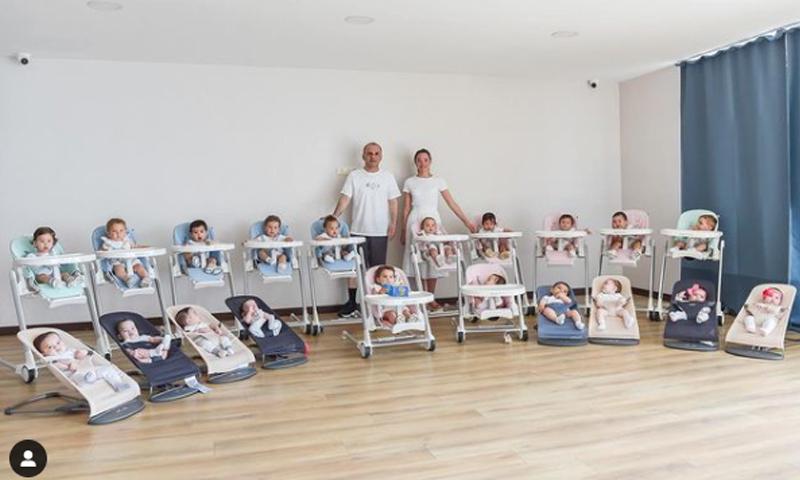 Россиянка родила за год 20 детей турку-миллионеру от суррогатных матерей