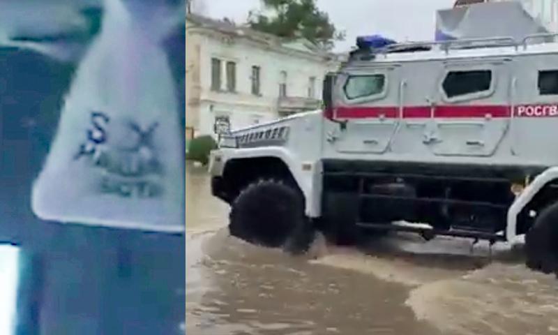 Sex наша работа: Аксенов прибыл в затопленную Ялту, вновь взбудоражив соцсети