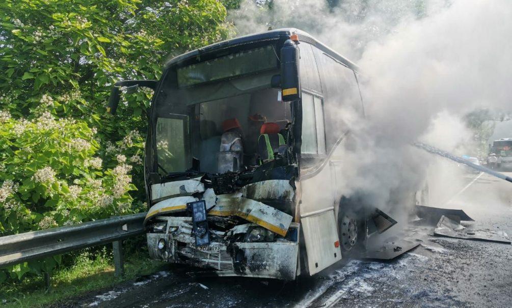 Два автобуса с детьми столкнулись на Кубани. 16 человек пострадали