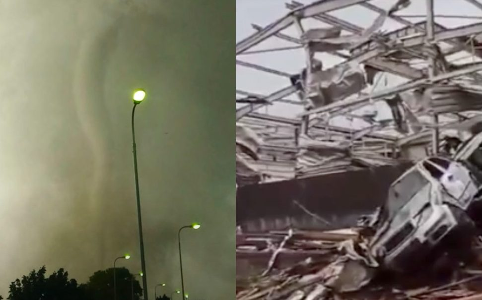 Смертоносный торнадо обрушился на Чехию: три человека погибли, сотни пострадали