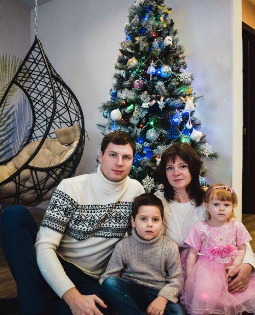 Семья Безруковых из Тольятти Самарской области