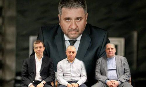 Вячеслав Симоненко (наверху). В нижнем ряду - совладельцы ГК Merlion. Коммерческая структура принадлежит им в равных долях.