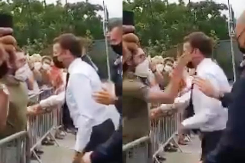Президент Франции Макрон получил мощного