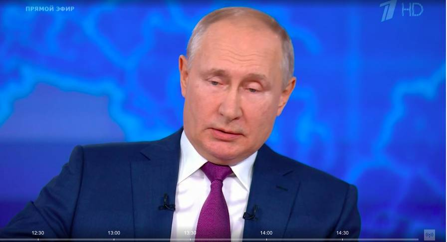 «Напишу аналитическую статью»: Путин отказался считать Украину недружественной