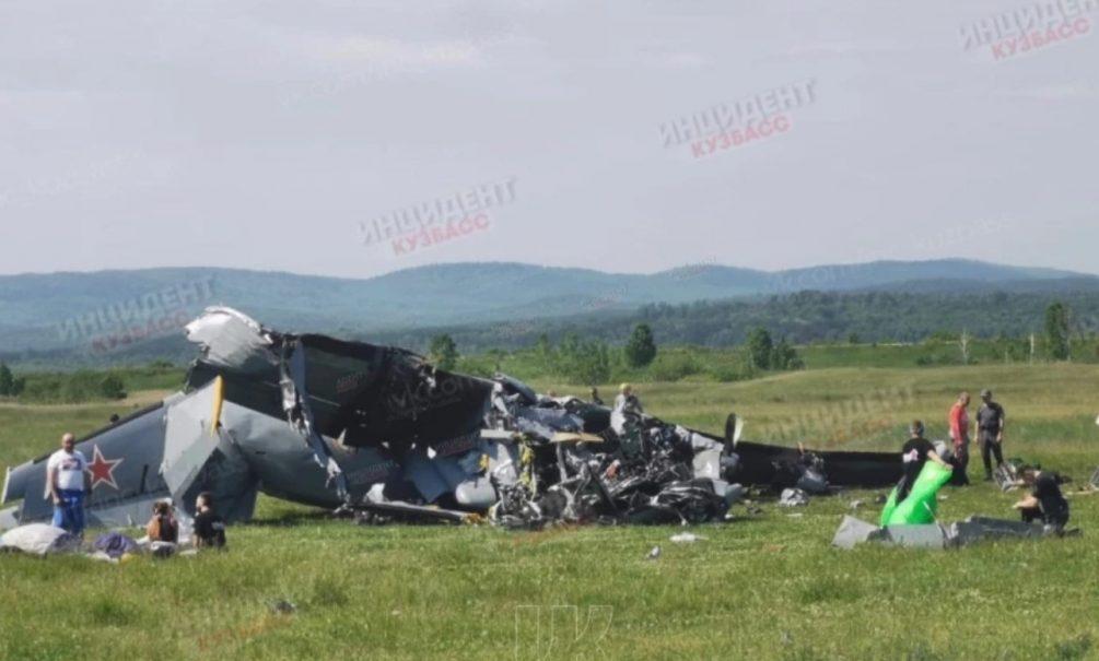 В Кемеровской области разбился самолет, есть погибшие и раненые