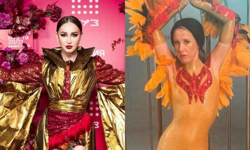 «Я открываю мир чудесных грузин!»: Собчак спародировала Бузову в роли актрисы МХАТа