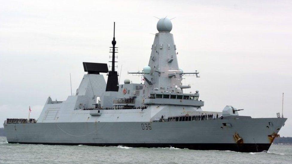 Секретные документы о рейде британского эсминца Defender вдоль  Крыма нашли на автобусной остановке