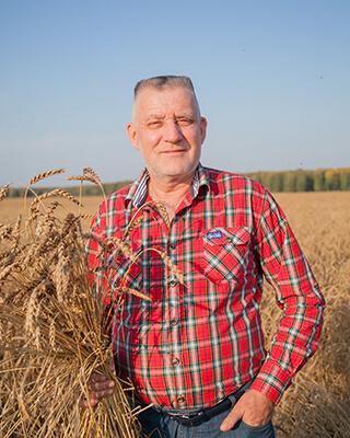 Заслуженный работник сельского хозяйства РФ, основатель сельскохозяйственной компании «Радуга» Николай Парыгин